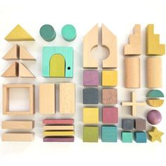 Beautiful building blocks