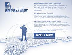 How to Become a Facebook India Ambassador  Tutorial Made Easy
