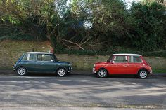 Two mini coopers in love ; )