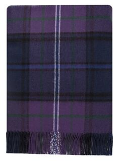 "Scotland Forever Lambswool Tartan or Plaid Blanket  $129.00  56"" x 72"""