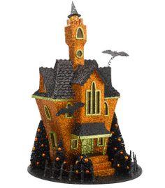 halloween glitter house - Chasing Fireflies