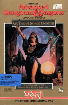 Gateway to the Savage Frontier DOS 1991
