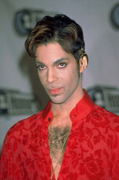 Le chanteur Prince aux VH1 Awards, en avril 1997.