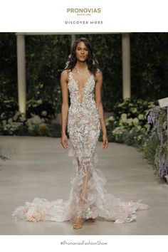 Glamorous Carolina gown from #InBloom #PronoviasFashionShow