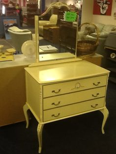 1940s original French style dresser £150.00