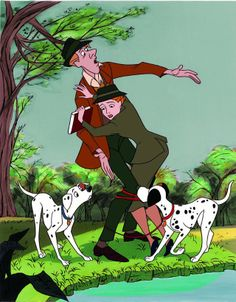 Disney 30 Day Challenge: FAVORITE ROMANTIC MOMENT... When Pongo tried to match-make Roger and Anita