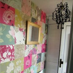 35 Cool Ideas To Decorate Your Home With Patchwork Walls | Shelterness
