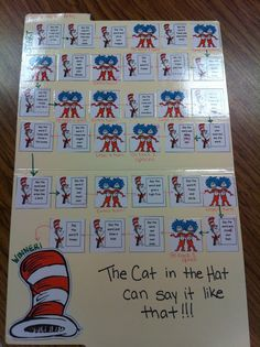 Dr. Suess activities for Dr. Seuss week.