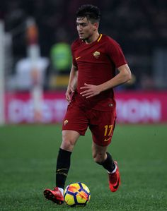 Cegiz Under of AS Roma in action during the Serie A match between AS Roma and UC Sampdoria at Stadio Olimpico on January 28, 2018 in Rome, Italy. - 7 of 33