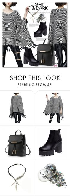 """""""NEWCHIC!"""" by lina-bovary ❤ liked on Polyvore"""