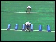 Bag Drills by Larry Johnson Football Drills For Kids, Football 101, Football Training Drills, Tackle Football, Football Rules, Football Workouts, Sport Football, Sports Training, Football Videos