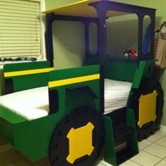 John Deere Tractor Kids Loft Beds: 17 Awesome Kids Tractor Bed Foto Inspiration