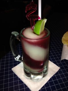 Uncle Julio's Fine Mexican Food - Grapevine, TX, United States. The Swirl - frozen margarita and sangria.