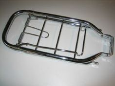Steco Original CHROME Rear Carrier for Vintage Bicycles.