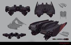 ArtStation - Blade Runner 2049 Luv's Drone, Dan Baker