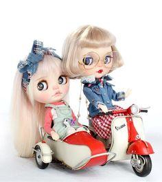 ブライスサイズ ブリキバイク&サイドカー レ... - ヤフオク!