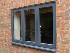 Our aim is to offer the best uPVC windows with the most professional advice, service and unbeatable standard of installation all at competitive prices. Front Window Design, House Window Design, Door Design, Aluminium Front Door, Aluminium Windows, Interior Windows, Casement Windows, House Windows, Windows And Doors