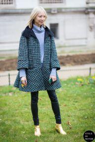 Haute Couture SS 2015 Street Style: Soo Joo Park