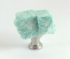 Natural Mint Amazonite Crystal Gemstone Rock by TheHobKnobery, $7.50
