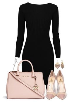 """""""Pink"""" by avonsblessing94 ❤ liked on Polyvore featuring Semilla, Michael Kors, Betsey Johnson, women's clothing, women, female, woman, misses and juniors"""