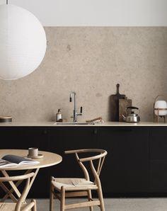 Minimal Scandinavian Kitchen in Natural Tones - Nordic Design