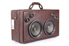 Free-ken-Awww-somm!! Suitcase Boom Box!! I...MUST...MAKE...THIS!!
