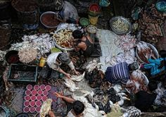 """Asia Pacific Winner: """"Poultry Prepared for Market"""" by Peter Graney – Cambodia"""