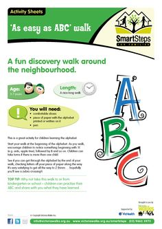 Walking activity - As easy as ABC