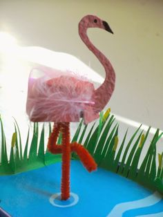 A Patchwork Life: Flamingos flock to the Zoo