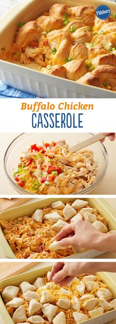 Buffalo Chicken Recipes, Buffalo Chicken Casserole, Chicken Soup Recipes, Shrimp Recipes, Slow Cooker Soup, Slow Cooker Recipes, Cooking Recipes, Oven Recipes, Top Recipes