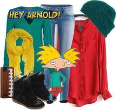 """Hey Arnold!"" by lilyelizajane on Polyvore"