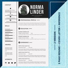 21 Resume bundle Best seller resume template resume image 7