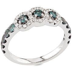 """""""Klementina"""" ring with natural Brazilian alexandrites set in this classically inspired period ring. More rare than diamonds, alexandrites have captured the hearts of collectors connoisseurs since their discovery in the Ural mountains almost 200 years ago."""