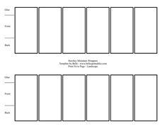 free mini candy bar wrapper template - 4 shaped bookmark templates 3 cu4cu on craftsuprint