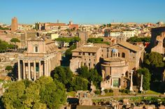 Rome Aerial View by EveLivesey on deviantART