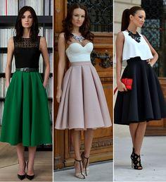 AAiii, saia midi!!! Ai, Ai!!! Como tu és linda!!! (rsrs) Blog Chérie Bijoux.