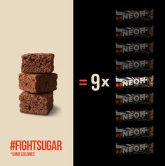 Only 1g sugar. #fightsugar #NEOH #NEOHlution #sugarfighter #sugarfightclub #lowcarb #lowcarbsnack Sugar, Chocolate, Snacks, Desserts, Food, Low Fiber Foods, Almonds, Low Carb Snack Ideas, Cocoa Butter