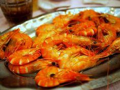 Shrimp. Yes.