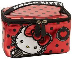 Amazon.com: Hello Kitty SANCB0457 Travel Kit,Red/Black/White/Grey,One Size: Clothing