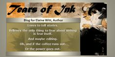 Tears of Ink Blog Launch