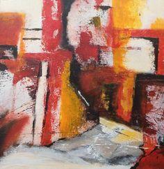 ingemalt (©2014 ingeborgzinn.com) Abstraktes Gemälde, datiert und signiert, Unikat