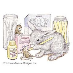 12 x 14 Laminated Table Mat - TM-9301 - The Official House-Mouse Designs® Web Site