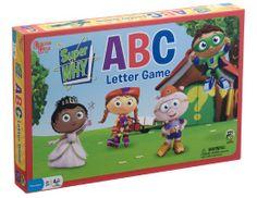 Amazon.com: University Games Super Why ABC Letter Preschool Game: Toys & Games