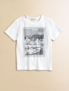 Dolce & Gabbana - Toddlers & Little Boys Italy Stamp Tee