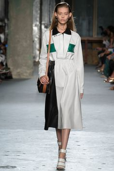 Proenza Schouler Spring 2015 Ready-to-Wear Fashion Show - Ondria Hardin