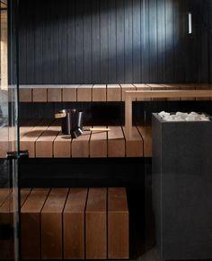 Sauna Ideas, Sauna Design, Wellness Spa, Master Bath, Airport Lounge, Cottage, Interior Design, Architecture, Building