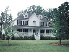 Home With Country-Style Comfort - plan #053D-0021 | houseplansandmore.com