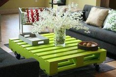 Decora tu casa reciclando palets