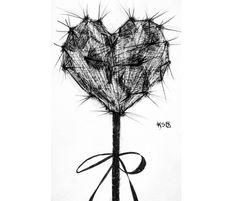 🔔#prickly #pricklypearcactus #heart #inktober2018 #inktober #promptlist #sketch #instaart #artistsoninstagram #bows Prickly Pear Cactus, Inktober, Insta Art, Prompts, Dandelion, Sketch, Bows, Heart, Artist