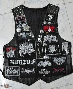 Black_magic's Marduk, Inquisition, ARCHGOAT, 2014 Battle vest Battle Jacket | TShirtSlayer